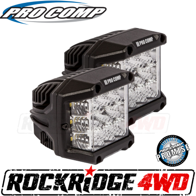 PRO COMP - Pro Comp 75w Wide Angle Cube LED Lights - 76411P