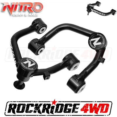 Nitro Gear & Axle - Nitro Upper Control Arms (Pair) for 1998-2007 Toyota Land Cruiser, Extended Travel Ball joint style - NPUCA-TLC100