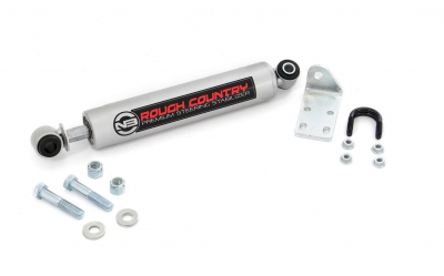 Rough Country - Rough Country GM STEERING STABILIZER - 8732030