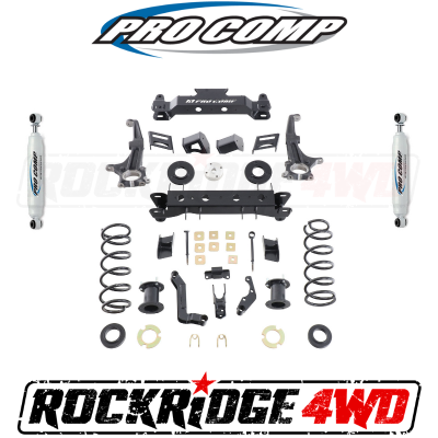 PRO COMP - Pro Comp 6 Inch Stage 1 Lift Kit for 2015-2019 Toyota 4Runner with Twin Tube Shocks - K5156B