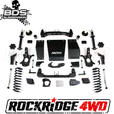 """BDS Suspension - BDS SUSPENSION 6"""" IFS Suspension System   15-19 Chevy/GMC 1/2 Ton SUV 4WD w/Magneride - 751H"""