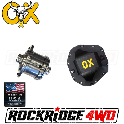 OX Locker - DANA 60 OX Locker (4.56 & HIGHER) 35 SPLINE FORD CHEVY DODGE - Includes HEAVY DUTY Differential Cover!   -OX-D60-456-35