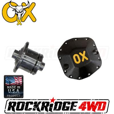 OX Locker - DANA 30/M186, 27 SPLINE OX Locker (3.73 & UP) for Front 18+ JEEP WRANGLER JL - Includes HEAVY DUTY Differential Cover!