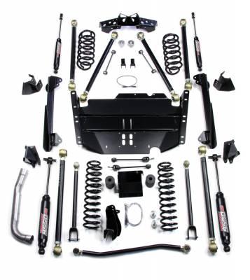 "TeraFlex - TeraFlex TJ 5"" Pro LCG Long Flexarm Suspension System w/ 9550 Shocks"