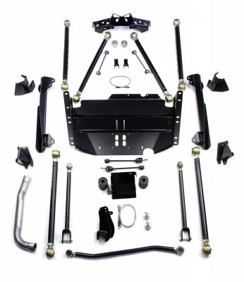 TeraFlex - TeraFlex TJ Pro LCG Suspension System for Coilover