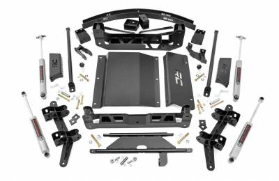 """Rough Country - Rough Country 1988-1998 Chevy / GMC 1500 Pickup SUV 6"""" Suspension Lift Kit - 27630"""
