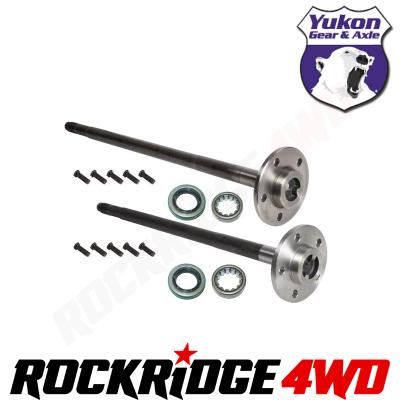 Yukon Gear & Axle - YUKON GEAR DANA 35 REAR AXLE KIT | 27 SPLINE FOR 91-06 JEEP WRANGLER YJ TJ LJ XJ