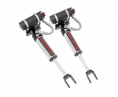 Rough Country - Rough Country GM FRONT ADJUSTABLE VERTEX SHOCKS (11-19 SILVERADO/SIERRA 2500/3500 | FOR 3-4.5IN LIFTS)