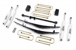"FORD - 2000-05 Ford Excursion - Zone Offroad - Zone Offroad 4"" Suspension System Lift Kit for 00-05 Ford Excursion 4WD - F11"