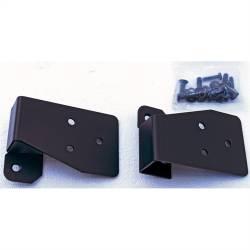 Exterior Body & Styling - Jeep Wrangler TJ / LJ 97-06 - Rugged Ridge - Mirror Relocation Bracket Pair, Black, 03-06 TJ Wrangler  -11025.03