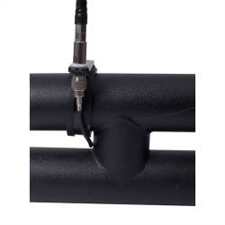 Shop By Brand - OMIX Rugged Ridge - Rugged Ridge - CB Antenna Mounting Bracket, For 3 Inch Tubular Bumpers, Universal Application   -11503.88