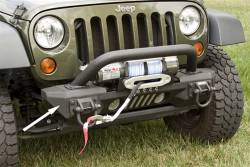 Jeep Wrangler JK 07-18 - Front Bumpers & Stingers - Rugged Ridge - XHD Aluminum Front Bumper Ends, Pair, Rugged Ridge, Jeep Wrangler (JK) 2007-2015     -11541.10