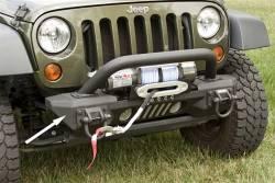 Jeep Wrangler JK 07-18 - Front Bumpers & Stingers - Rugged Ridge - XHD Aluminum Front Bumper Ends, Pair, Rugged Ridge, Jeep Wrangler (JK) 2007-2015   -11541.10