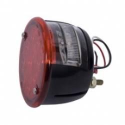 Lighting - LED Tail & License Plate Lights - Rugged Ridge - Led Tail Light Assembly Left Hand Jeep CJ 46-75  -12403.81