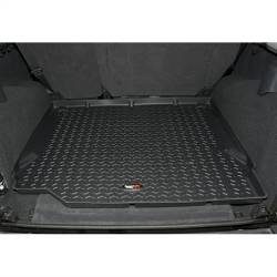 Interior Accessories - Jeep Wrangler JK Specific - Rugged Ridge - All Terrain Cargo Liner, Black, Rugged Ridge, Jeep Wrangler JK 2007-2010 2-Door & 4-Door both RHD and LHD models  -12975.01