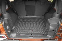 Interior Accessories - Jeep Wrangler JK Specific - Rugged Ridge - Cargo Liner Black Jeep Wrangler JK 2 DOOR and 4 DOOR 2011-2015   -12975.03