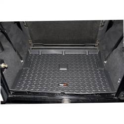 Rugged Ridge - All Terrain Cargo Liner, Black, Rugged Ridge, Jeep Wrangler TJ 1997-2006, Wrangler Unlimited LJ 2003-2006  -12975.11