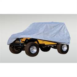 Jeep Tops & Hardware - Jeep Wrangler JK 2 Door 07+ - Rugged Ridge - Three Layer Full Car Cover, 04-15 Jeep Wrangler Unlimited LJ & JK 4 Door 13321.71