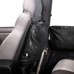 Seat Back, Trail Bag Dettachable, Rugged Ridge, With Hook & Loop Attachment,76-15 CJ YJ TJ JK Wrangler  -13551.25