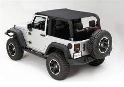 Jeep Tops & Hardware - Jeep Wrangler JK 4 Door 07+ - Rugged Ridge - Rugged Ridge Mesh Island Top 4 Door Jeep Wrangler JK 10-15   -13579.13