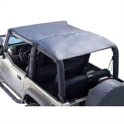 Jeep Tops & Hardware - Jeep Wrangler TJ 97-06 - Rugged Ridge - Header Roll Bar Top, Diamond Black, 97-06 TJ Jeep Wrangler  -13581.35