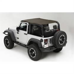 Jeep Tops & Hardware - Jeep Wrangler JK 2 Door 07+ - Rugged Ridge - Island Topper Soft Top, Khaki Diamond, Rugged Ridge, JK Wrangler 07-09 2-Door  -13588.36