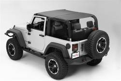 Jeep Tops & Hardware - Jeep Wrangler JK 2 Door 07+ - Rugged Ridge - Island Top Black Diamond JK 2Dr Wrangler 10-15    -13591.35