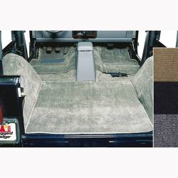 Jeep - Jeep LJ Wrangler 04-06 - Rugged Ridge - Carpet Kit Deluxe, Grey, Rugged Ridge, Jeep CJ7 76-86, Wrangler YJ 87-95   -13690.09