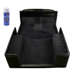 Jeep - Jeep LJ Wrangler 04-06 - Rugged Ridge - Carpet Kit Deluxe Black CJ7 YJ 76-95 Jeep Wrangler With Adhesive   -13695.01