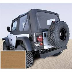 Soft Top, Rugged Ridge, Factory Replacement With Door Skins, 97-02 TJ Wrangler, Spice  -13703.37