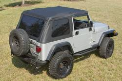 Shop By Brand - OMIX Rugged Ridge - Rugged Ridge - Bowless Top TJ Wrangler 97-06 Black Diamond    -13750.35