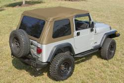 Shop By Brand - OMIX Rugged Ridge - Rugged Ridge - Bowless Top TJ Wrangler 97-06 Spice   - 13750.37
