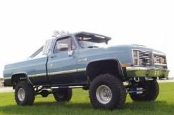 "BDS Suspension - BDS Suspension 4"" Lift Kit for 1977-1987 GM 4WD K10/ K15 Pickup Trucks, 1/2 ton Suburban, and K5 Blazer / Full Size Jimmy -123H - Image 3"