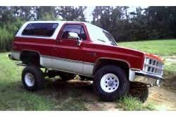 "BDS Suspension - BDS Suspension 4"" Lift Kit for 1977-1987 GM 4WD K10/ K15 Pickup Trucks, 1/2 ton Suburban, and K5 Blazer / Full Size Jimmy -123H - Image 4"