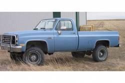 "BDS Suspension - BDS Suspension 4"" Lift Kit for 1977-1987 GM 4WD K10/ K15 Pickup Trucks, 1/2 ton Suburban, and K5 Blazer / Full Size Jimmy -123H - Image 5"