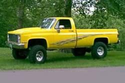"BDS Suspension - BDS Suspension 6"" Lift Kit for 1977-1987 GM 4WD K10/ K15 Pickup Trucks, 1/2 ton Suburban, and K5 Blazer / Full Size Jimmy  -129H - Image 2"