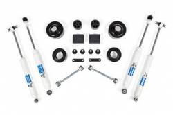 "BDS Suspension - BDS Suspension 2"" Lift Kit for 2007 - 2011 Jeep Wrangler JK 2 door 4WD - Standard Jeep or Rubicon  -1401H"