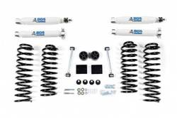 "BDS Suspension - BDS Suspension 2"" Spring Lift Kit for 2007 - 2011 Jeep Wrangler JK 4 door 4WD - Standard Jeep or Rubicon - 1402H"