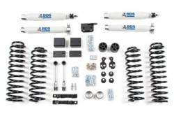 "Wrangler RHD - 2012-2015 JK 4 DOOR - BDS Suspension - BDS Suspension 3"" Lift Kit for 2012-2018 Jeep Wrangler JK 4 door 4WD - Standard Jeep or Rubicon - 1403H"