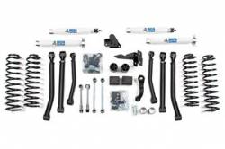 "Wrangler - 2012-2015 JK 4 Door - BDS Suspension - BDS Suspension 4.5"" Lift Kit for 2012-2016 Jeep Wrangler JK 4 door 4WD - Standard Jeep or Rubicon   -1405H"