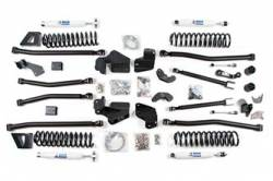 "Wrangler - 2007-2011 JK 4 Door - BDS Suspension - BDS Suspension 6.5"" Long Arm 4-Link Lift Kit for 2007-2016 Jeep Wrangler JK Unlimited 4 door - Rubicon and Standard  - 1409H"