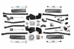 "Wrangler - 2007-2011 JK 2 Door - BDS Suspension - BDS Suspension 4"" Long Arm 4-Link Lift Kit for 2012-18 Jeep Wrangler JK 2 Door - Rubicon and Standard - 419H"