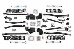 "BDS Suspension - BDS Suspension 5.5"" Long Arm 4-Link Lift Kit for 2007-2018 Jeep Wrangler JK 2 Door - Rubicon and Standard - 1421H"