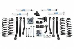 "Wrangler - 2007-2011 JK 2 Door - BDS Suspension - BDS Suspension 4"" Lift Kit for 2007-2011 Jeep Wrangler JK 2 door 4WD - Standard Jeep or Rubicon   -1425H"