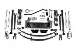 "BDS Suspension - BDS Suspension 4-1/2"" Long Arm Suspension System for 1984 - 2001 Jeep Cherokee XJ - 1427H"