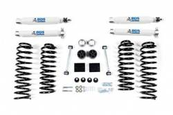 "BDS Suspension - BDS Suspension 2"" Spring Lift Kit for 2012-2018 Jeep Wrangler JK 4 door 4WD - Standard Jeep or Rubicon - 1430H"