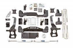 """4WD - 2014 - BDS Suspension - BDS Suspension 4"""" Suspension Lift Kit System for 2014 Ford F150 4WD pickup trucks -1502H"""