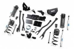 "BDS Suspension - BDS Suspension 2014-18 Ram 2500 4WD Diesel - 6"" 4-Link Suspension System  - 1604H"