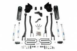 "DODGE - 2013-2016 RAM 1 TON - BDS Suspension - BDS Suspension 2013-17 Ram 3500 4"" 4-Link Suspension System - Gas Models Only - 1613H"