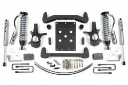 "CHEVY / GMC - 2007-17 Chevy / GMC 1/2 Ton Pickup & SUV - BDS Suspension - BDS Suspension 6"" Coil-Over Suspension Lift Kit for 2007 - 2013 Chevrolet/GMC 2WD 1500 Series Silverado/Sierra 1/2 ton pickup - 174F"